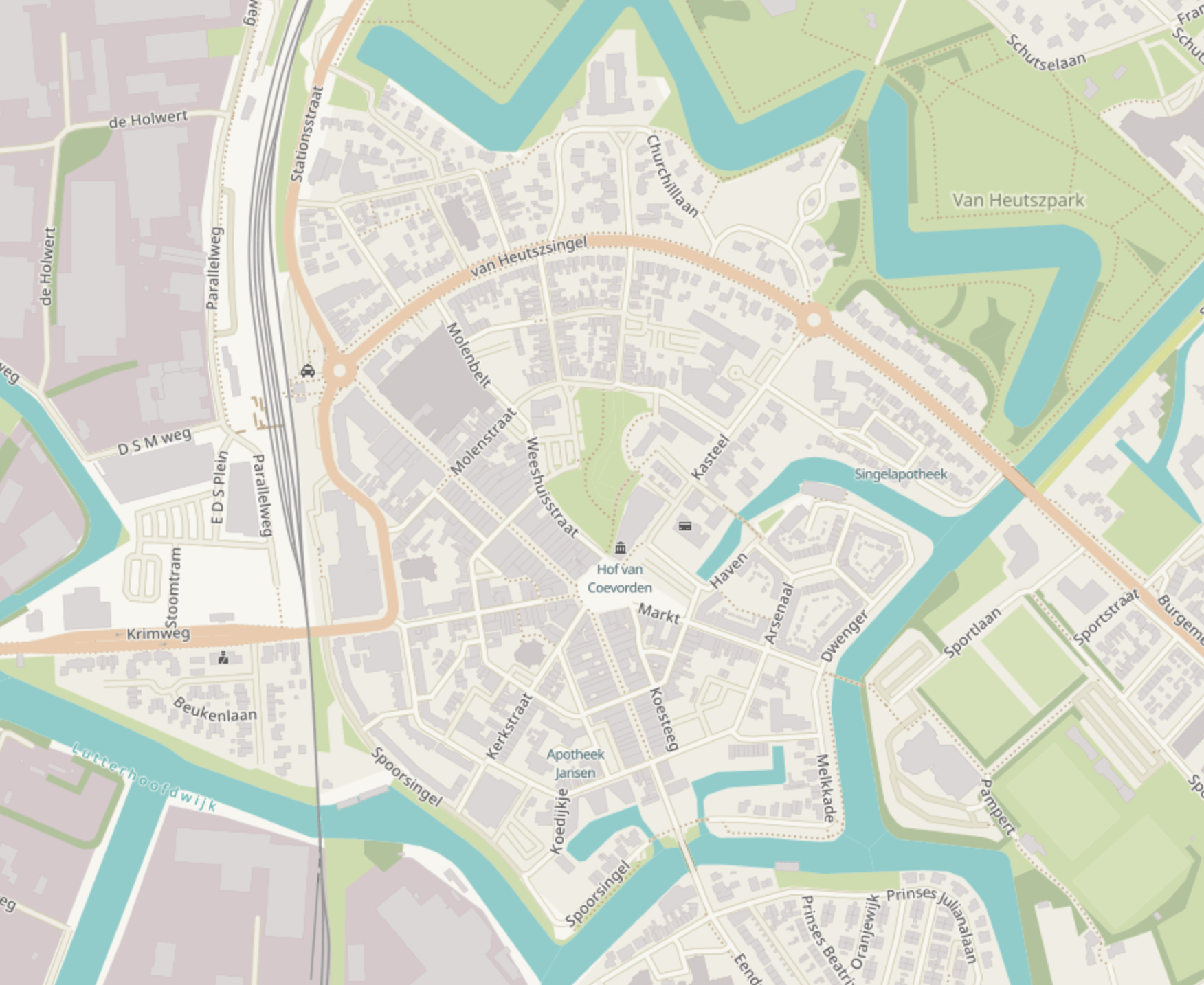 Parkeren in Coevorden